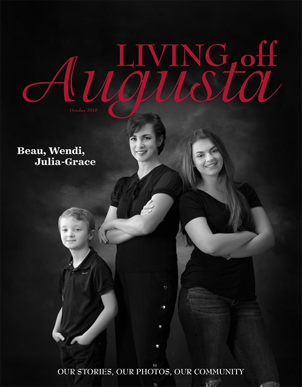 Living Off Augusta Magazine, October 2018